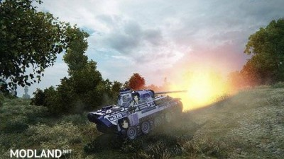 [BCSF] PzKpfw V Panther [LOVELY×CATION 2] - [Izumi Wakoto] 스킨 0.0 [1.5.0.4], 3 photo